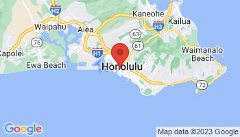 Map of Honolulu