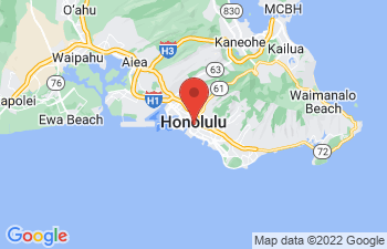 Map of Honolulu