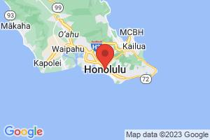 Map of Honalulu