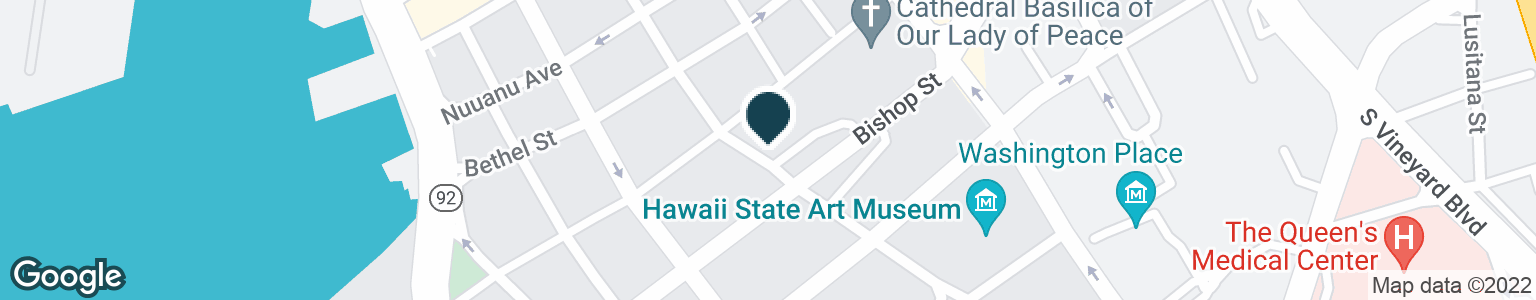 Google Map of116 SOUTH HOTEL STREET