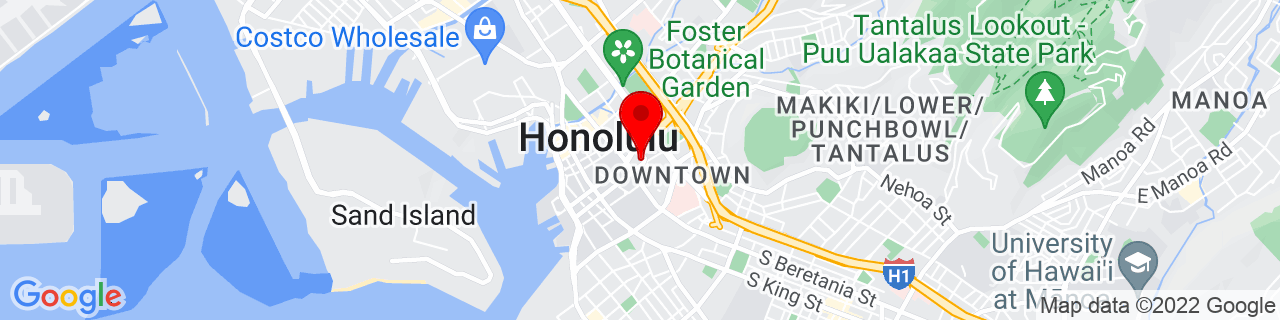 Google Map of 21.310739, -157.857525