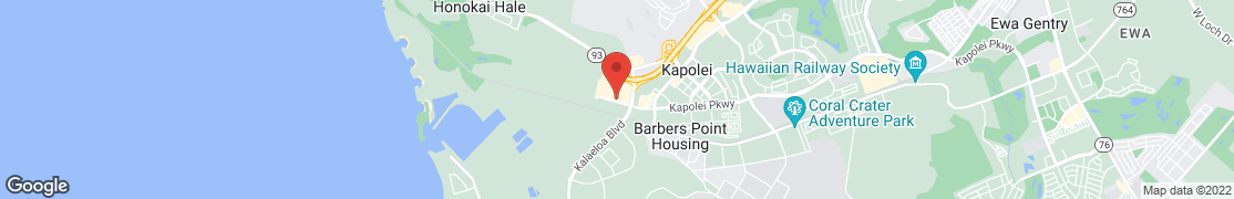 Map of 4470 Kapolei Parkway  Ste 800 in Kapolei