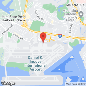 Map of Burger King at 300 Rodgers Blvd, Honolulu, HI 96819