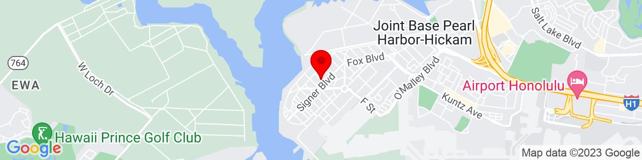 Google Map of 21.3397707, -157.9614361