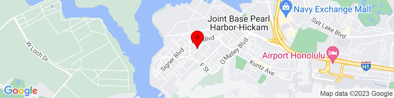 Google Map of 21.3405615, -157.9553328