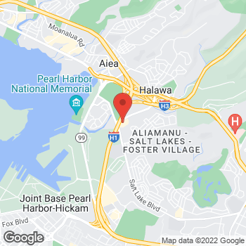 Map of BAYADA Oahu Behavior Analysis at 4510 Salt Lake Blvd, Honolulu, HI 96818
