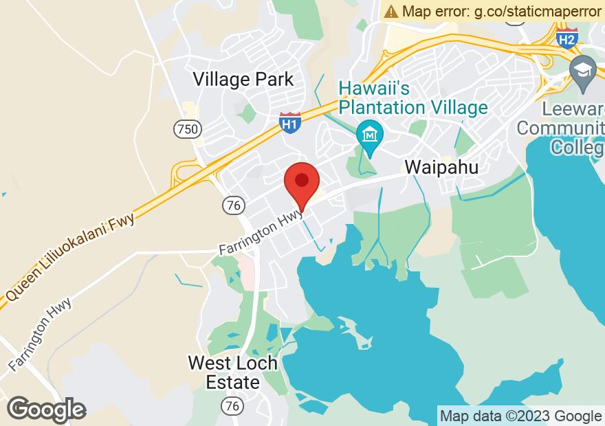 Google Map of 94-223 FARRINGTON HIGHWAY
