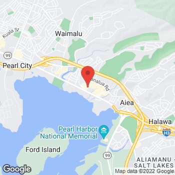 Map of Bed Bath & Beyond at 98-145 Kaonohi Street, Aiea, HI 96701