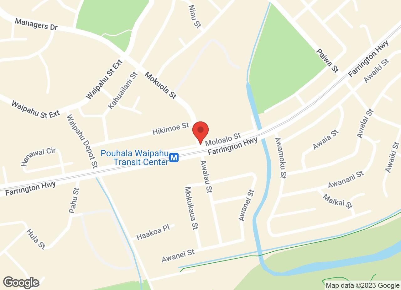 Google Map of VCA Waipahu Animal Hospital