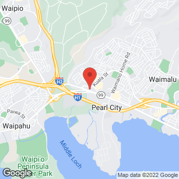 Map of Guitar Center Lessons at 1000 Kamehameha Hwy #200, Honolulu, HI 96782