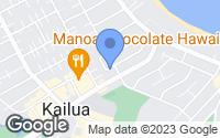 Map of Kailua, HI