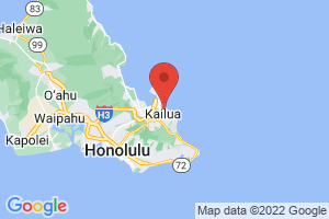 Map of Kailua Beach