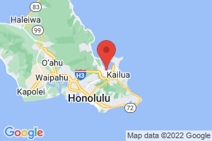 Map of Kane`ohe