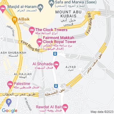 خريطة فندق فندق زوار البيت
