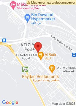 Google Map of فندق مكارم منى