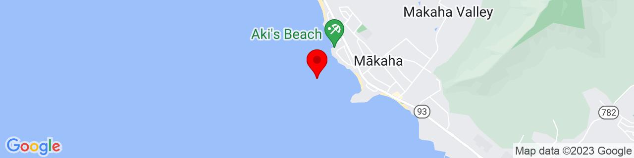 Google Map of 21.4634328, -158.2206477