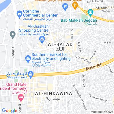 خريطة فندق فندق راف البلد