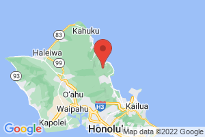 Map of Windward Coast of Oahu