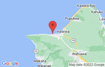 Map of Mokuleia
