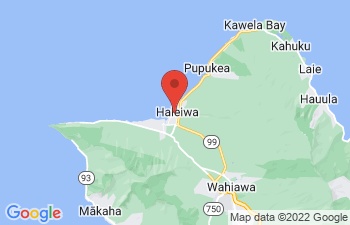Map of Haleiwa
