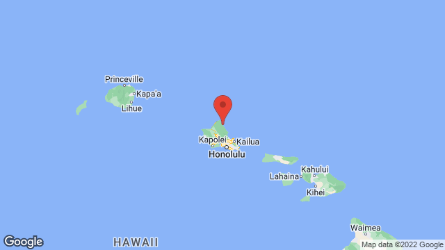 Brigham Young University-Hawaii location map