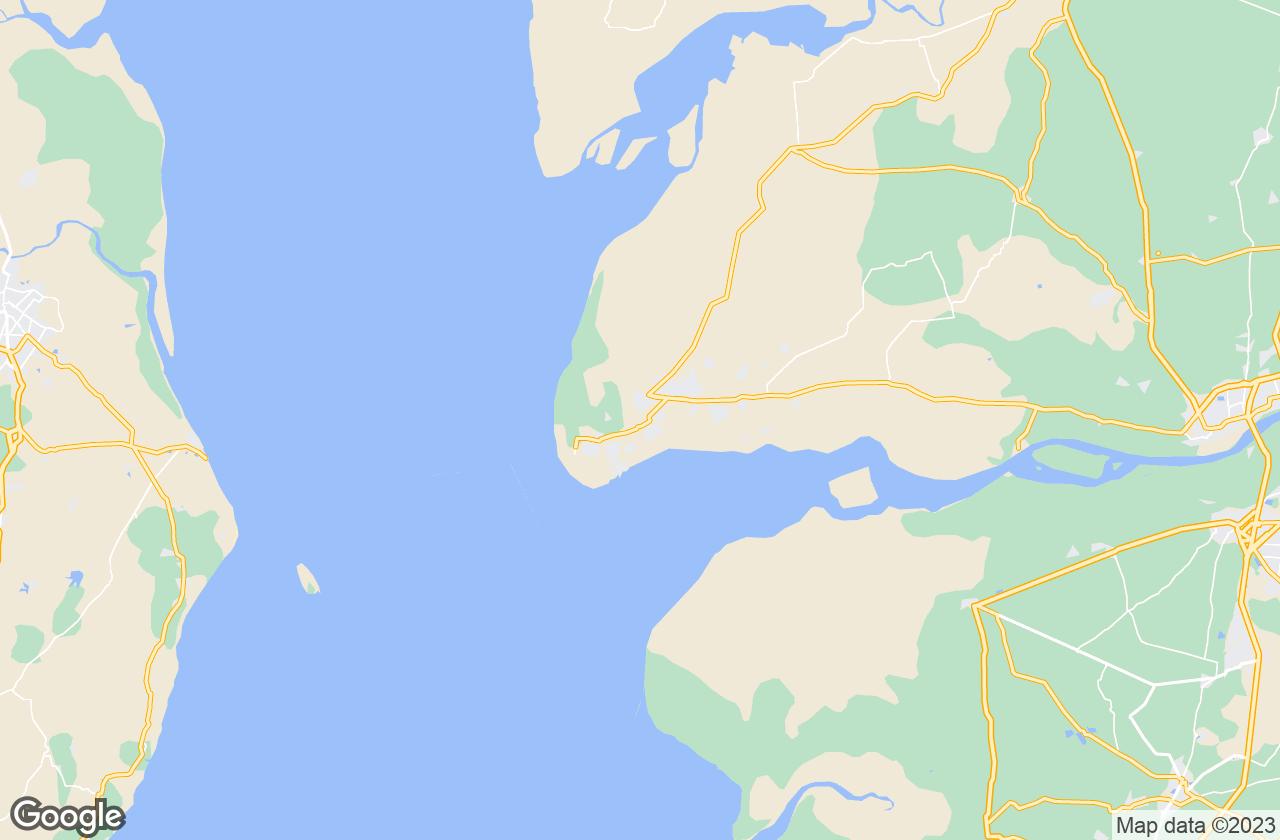 Google Map of Dahej