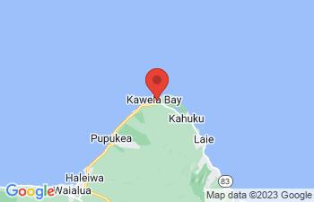 Map of Kahuku and Turtle Bay
