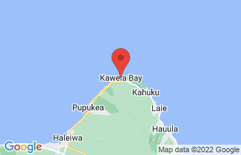 Map of Kahuku and Turtle Bay