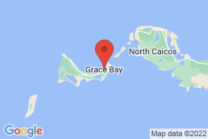Map of Grace Bay Beach