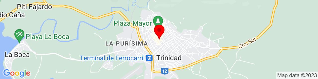 Google Map of 21.80194, -79.98417