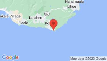 Map of Poipu