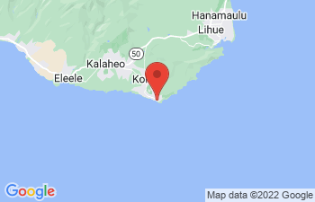 Map of Poipu