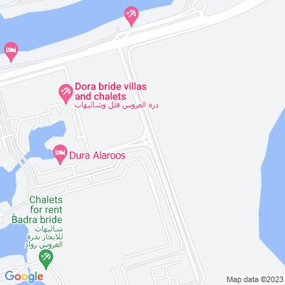 خريطة فندق درة للشقق