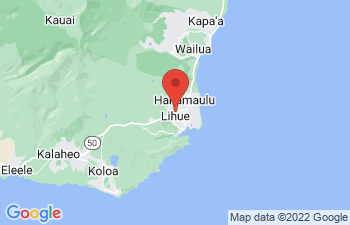 Map of Lihue