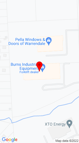 Google Map of Burns Industrial Equipment 210 Thorn Hill Road, Warrendale, PA, 15086