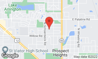 Map of 210 North Parkway PROSPECT HEIGHTS, IL 60070