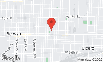 Map of 2100 South Austin Boulevard CICERO, IL 60804