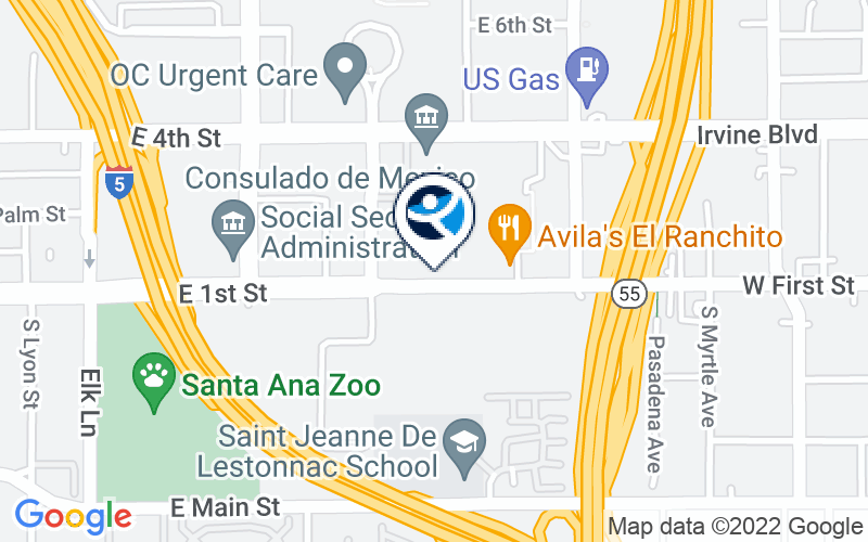 Recovery Solutions Santa Ana Location and Directions