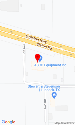 Google Map of Associated Supply Company 2102 E Slaton Highway, Lubbock, TX, 79452