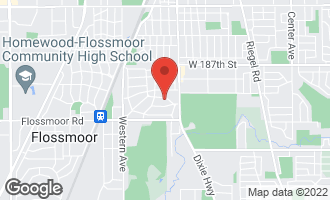 Map of 2104 Hutchison Road FLOSSMOOR, IL 60422