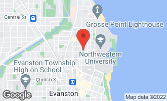 Map of 2109 Sherman Avenue C EVANSTON, IL 60201