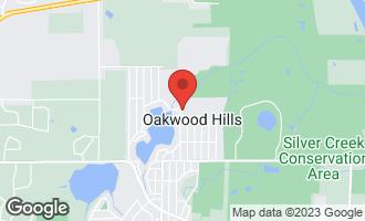Map of 211 Lake Shore Drive OAKWOOD HILLS, IL 60013