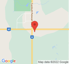 Google Map of 2110+Highway+6+South%2CMelfort%2CSaskatchewan+S0E+1A0