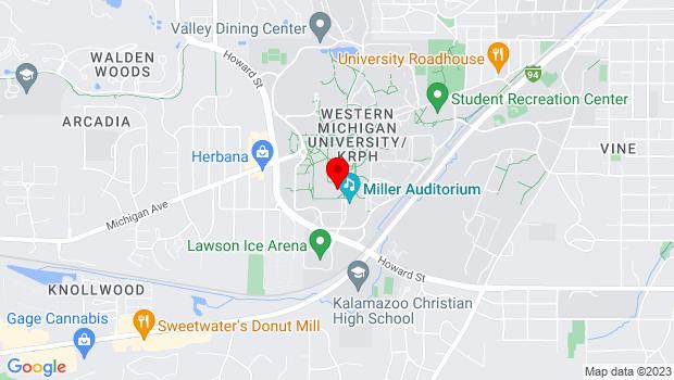 Google Map of 2110 Richmond Center for Visual Arts, Kalamazoo, MI 49008