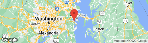 Map of 2110 SHORE DRIVE EDGEWATER, MD 21037