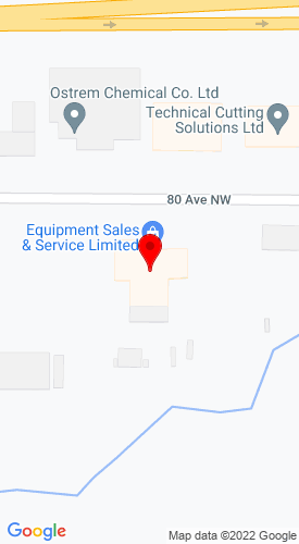 Google Map of Equipment Sales & Service Limited 2111 80th Avenue, Edmonton, AL, Alberta, Canada, T6P 1N3