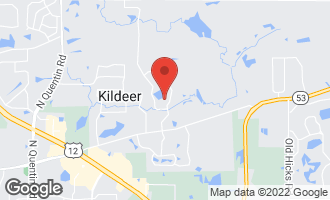 Map of 21118 North Middleton Drive KILDEER, IL 60047