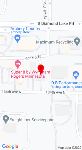 Google Map of Indy Lift 21120 134th Ave N, Rogers, MN, 55374