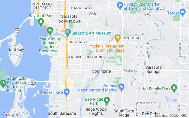 2113 S Tuttle Ave Sarasota Florida 34239 locatior map