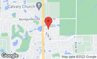 Map of 2114 Fulham Drive - NAPERVILLE, IL 60564